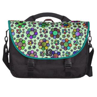 Colorful Flower Pattern Tie Dye Computer Bag