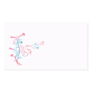 Colorful Flower Plant Business Card