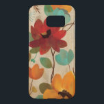 "Colorful Flowers and Buds Samsung Galaxy S7 Case<br><div class=""desc"">&#169; Silvia Vassileva / Wild Apple.  The image shows colorful flowers and flower buds on an off white background. Smaller flowers,  leaves,  and branches can also be seen on the image.</div>"