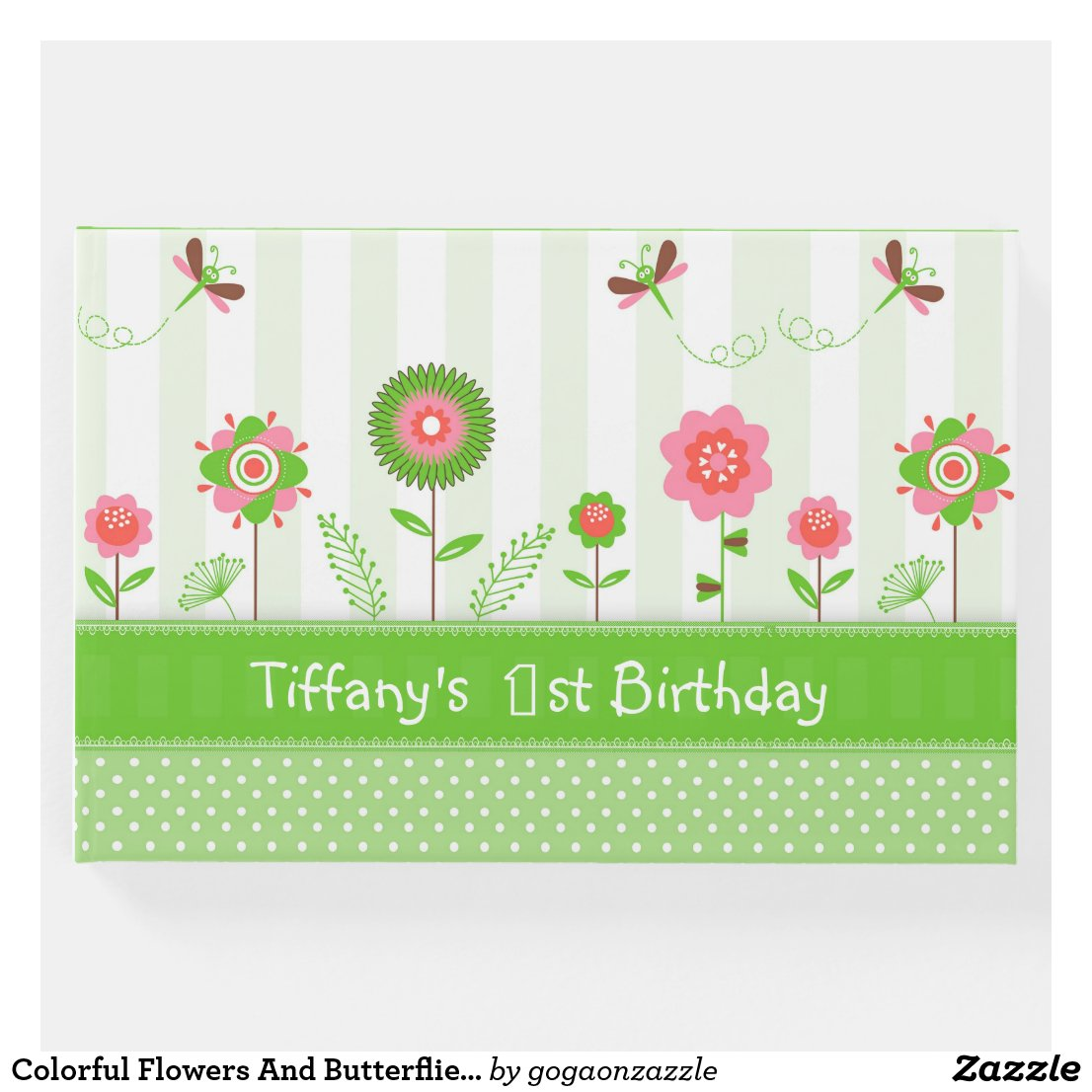 Colorful Flowers And Butterflies- Birthday