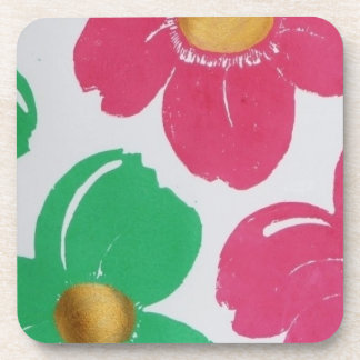 Colorful Flowers Coasters