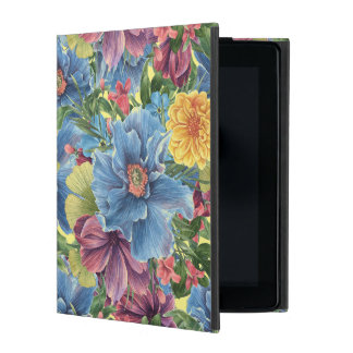 Colorful Flowers Collage Hand Illustration GR1 iPad Case