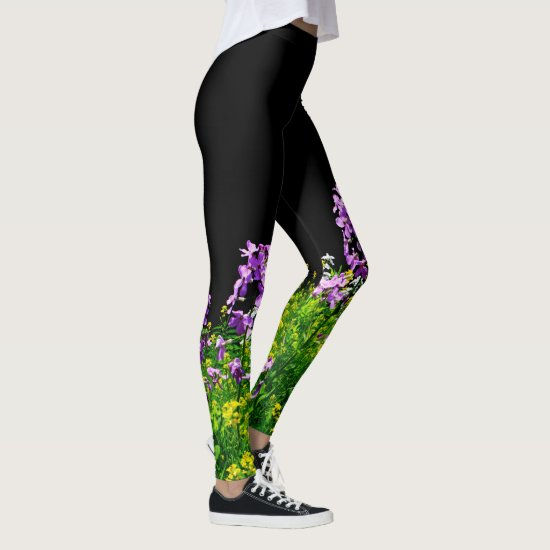 [Colorful Flowers] Field of Wildflowers Leggings