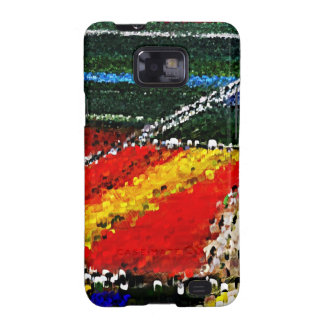 Colorful Flowers Field Painting - SS Galaxy Case Samsung Galaxy Case