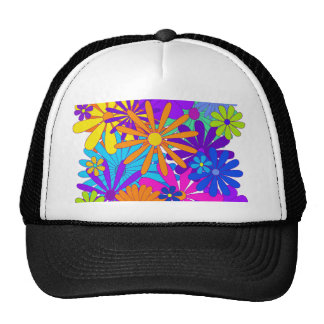 Colorful flowers floral gift Mother's Day Trucker Hat