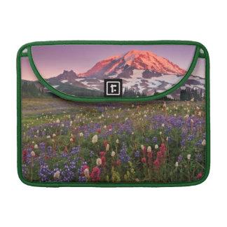 Colorful Flowers in Rainier National Park MacBook Pro Sleeve