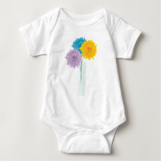 Colorful Flowers In Vase Shirt