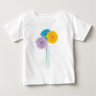 Colorful Flowers In Vase T Shirt