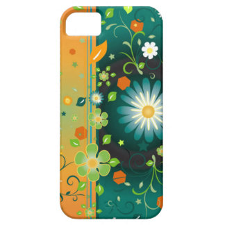 Colorful Flowers iPhone 5 Barely There Case