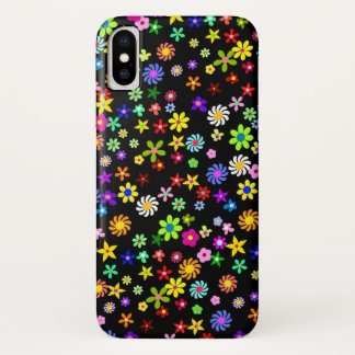 Colorful Flowers iPhone X Case