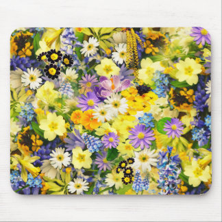 Colorful Flowers ! Mouse Pad