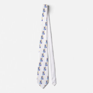 Colorful Flowers Neck Tie