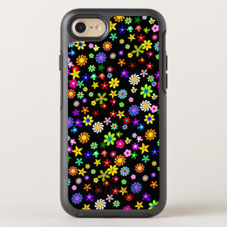 Colorful Flowers OtterBox Symmetry iPhone 7 Case