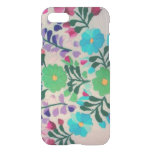 Colorful Flowers Pattern Iphone 7 Case at Zazzle