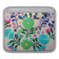 Colorful Flowers Pattern Sleeve For iPads