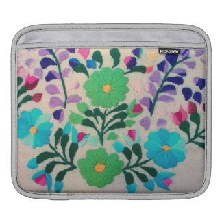 Colorful Flowers Pattern Sleeves For iPads