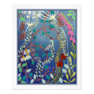 Colorful Flowers. Personalized Flyer
