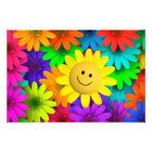 Colorful flowers photo print