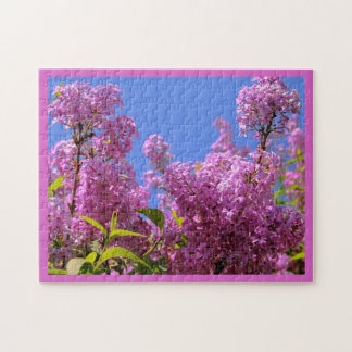 [Colorful Flowers] Pink Lilac Syringa Jigsaw Puzzle