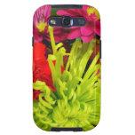 colorful flowers samsung galaxy SIII case
