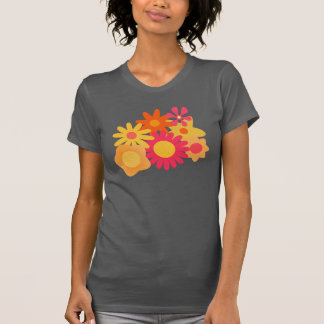 colorful flowers vector T-Shirt