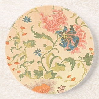 Colorful Flowers Wonderland Sandstone Coaster