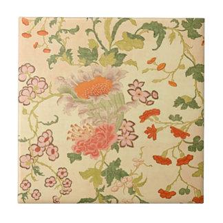 Colorful Flowers Wonderland Ceramic Tile