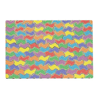 Colorful Fluctuations Placemat