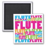 Colorful Flute Fridge Magnet