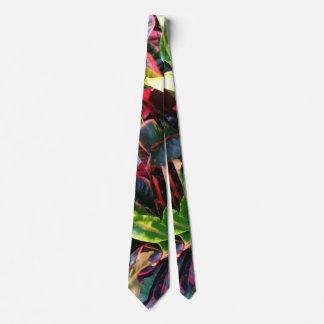 Colorful Foilage Mens Tie