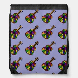 Colorful Folk Art Backpack