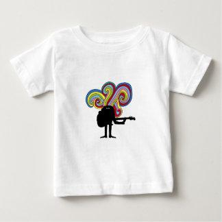 Colorful folksinger baby T-Shirt