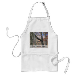 Colorful Forest at Dusk Adult Apron