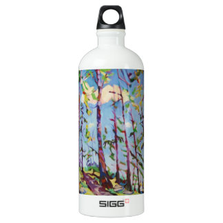 Colorful forest painting SIGG traveler 1.0L water bottle