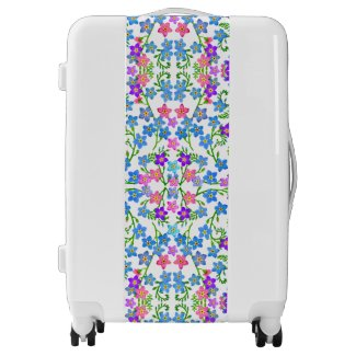 Colorful Forget Me Nots Luggage