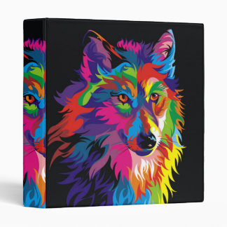 Colorful fox binder