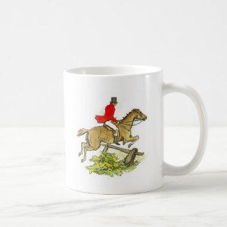 Colorful Fox Hunter Jumper Horse Horseback Rider Coffee Mug