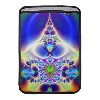 Colorful Fractal Abstract MacBook Sleeve