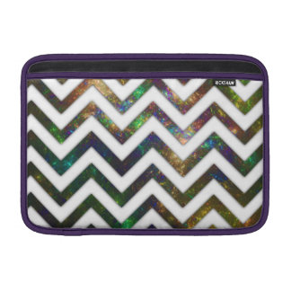 """Colorful Fractal Chevron 11"""" Sleeve For MacBook Air"""