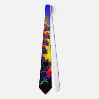 Colorful Fractal Design: Necktie / Tie