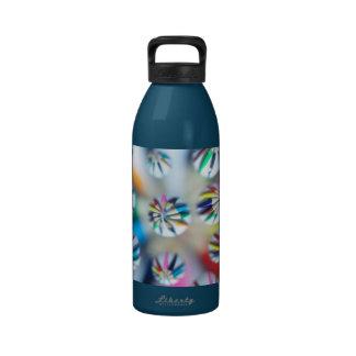 Colorful Fractal Digital Art Photography Pencil Drinking Bottle