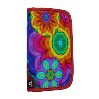 Colorful Fractal Flowers Planner