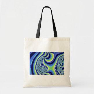 Colorful Fractal ice rink Canvas Bag