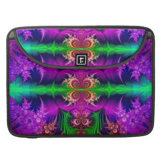 Colorful Fractal - Masquerade - Mac Sleeve
