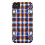 Colorful fractal pattern blackberry bold cases