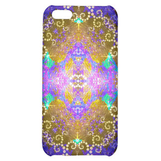 Colorful Fractal Pattern ip4 Speck Case iPhone 5C Cover