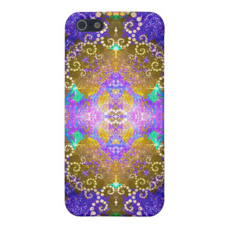 Colorful Fractal Pattern ip4 Speck Case Covers For iPhone 5