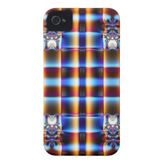 Colorful fractal pattern iPhone 4 case