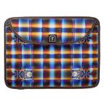 Colorful fractal pattern MacBook pro sleeves