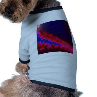 Colorful fractal pet clothes